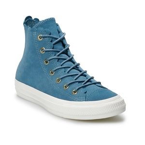 Women's Converse All Star Suede High Top Shoe